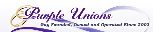 Purple Unions Gay/Lesbian Wedding and Civil Union Vendor Directory